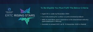 ERTC Rising Stars Criteria - To be eligible to nominate at Rising Stars
