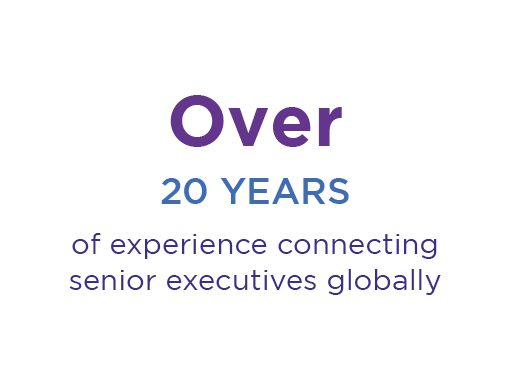 over 20 years of connecting senior executives globally