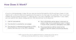 How does Rising Stars Work? World Refining Association
