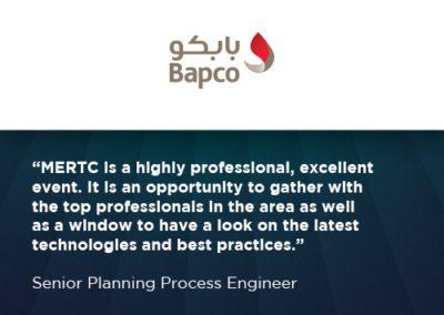 Bapco WRA testimonial