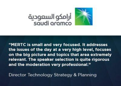Saudi Aramco WRA testimonial