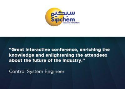 Sipchem WRA testimonial