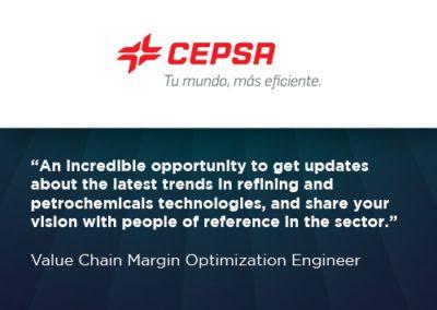 CEPSA WRA testimonial