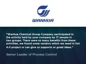 wanhua testimonial