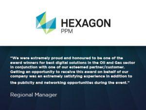 hexagon testimonial about wra